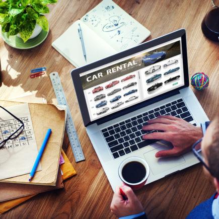 site web agence de location